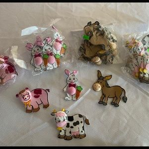 Farm baby animals Party decoration baby shower